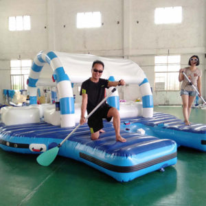 inflatable Party Raft paddles