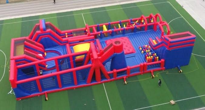 best indoor inflatable playground