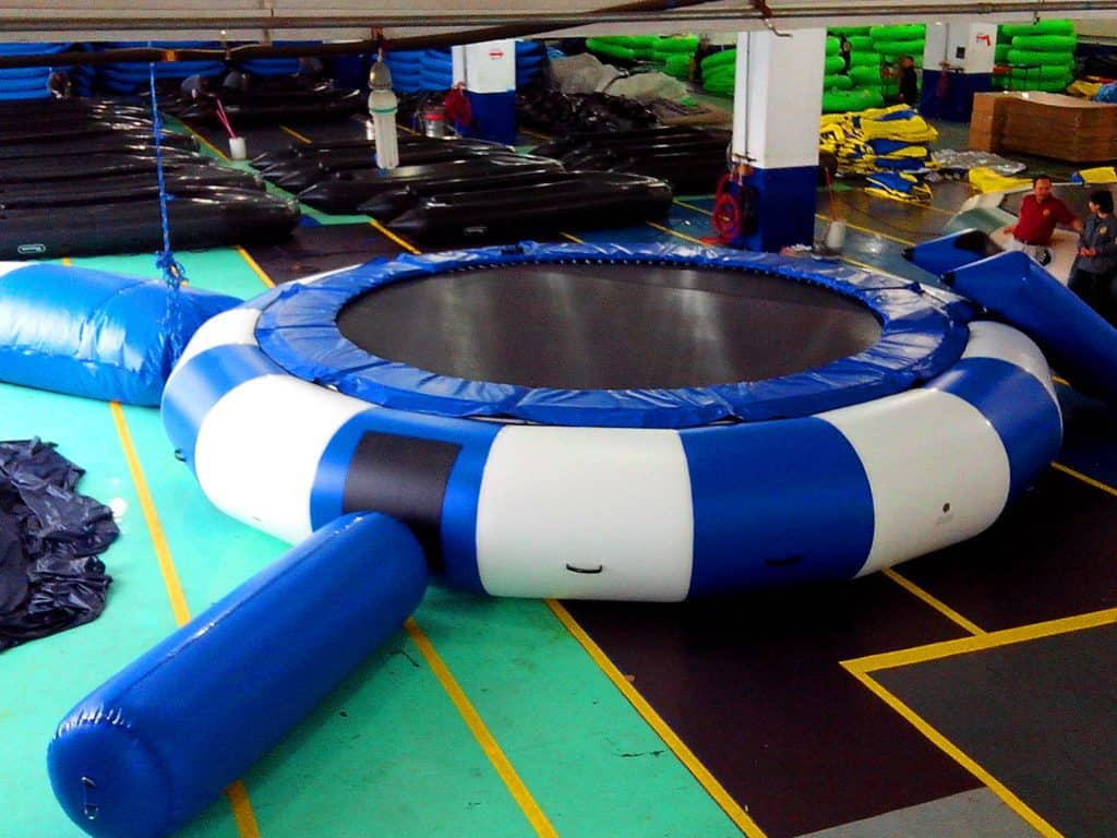 Inflatable Water Trampolines?